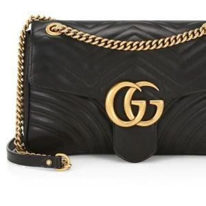 Gucci Marmont Bag Black